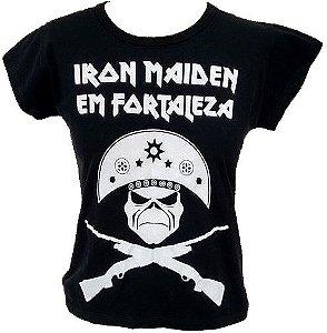 Campanha Iron Maiden em Fortaleza - BabyLook