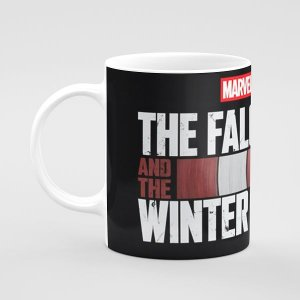 Falcão e Soldado Invernal Mug