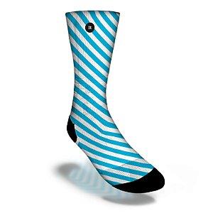 Faixas Azuis / Blue Stripes - Meias ItSox