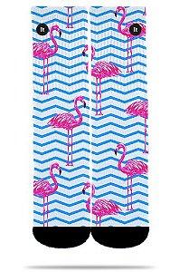 Flamingo Listrado - Meias ItSox