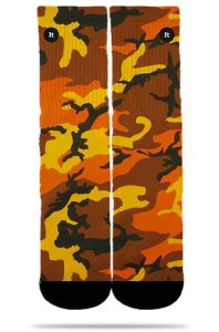 Camuflada Orange - Meias ItSox