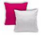Capa de Almofada Pink para Sublimação com Zíper Invisível 40x40cm