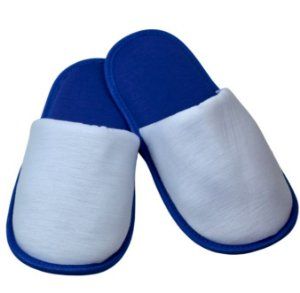 Pantufa para Sublimação Azul / Branco - Adulto