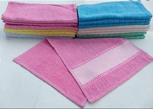 Toalha de Lavabo Aveludada Athelier - Estampa Sublimática - 380g/m² ( Pink )