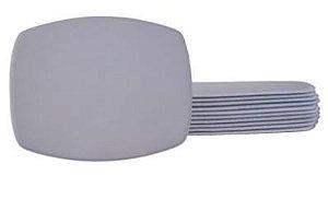 Mouse Pad Básico Pedra Bordas soldadas Branco P/sublimação Pct/10