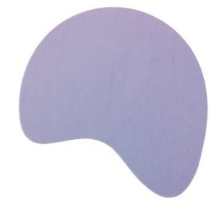 Mouse pad plano básico Boomerang para sublimação Pc/10