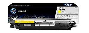 Toner Original HP CP1025 CP 1025 CE312 CE312A M175A HP 126A - Cartucho HP CE312AB - Amarelo