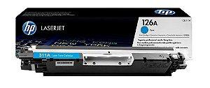 Toner Original HP CP1025 CP 1025 CE311 CE311A M175A HP 126A - Cartucho HP CE311AB - Ciano