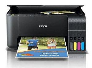 Epson Multifuncional L3150 Com Bulk + 400ml Tinta Sublimática