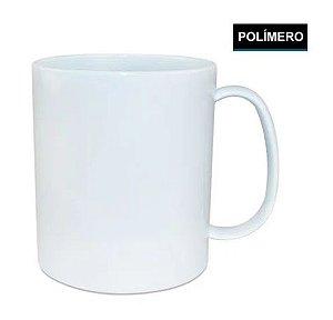 Caneca Branca Polimero 110gr P/Sublimação Marca L