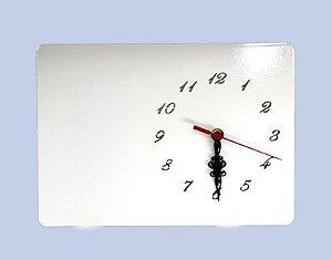 Relógio MDF 20X28 Cm Com Número 6mm