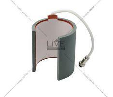 Resistencia Térmica Cilindrica Caneca 11OZ 110V - Livesub ( Plug Femea )