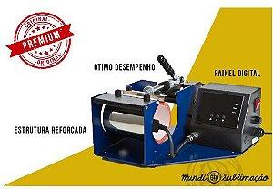 PRENSA CANECA MUNDI PREMIUM 220V (Canecas,Squeezes,Vidro,Alumínio etc...) 1 Ano de Garantia