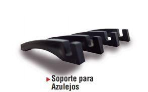 10 PAR SUPORTE DE AZULEJO PRETO PLÁSTICO