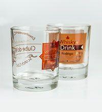 Copo de Whisky em Vidro Cristal para Sublimação - 250ml