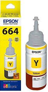 Refil Yelow Tinta 664 Epson L220 L375 L355 L395 L365L375 L455 L1300 L800