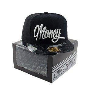 BONE ABA RETA YOUNG MONEY SNAPBACK PTO MONEY FLORAL