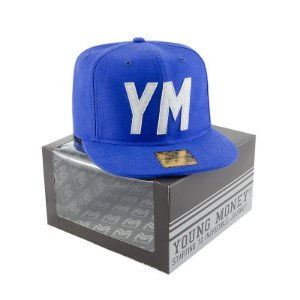BONE ABA RETA YOUNG MONEY SNAPBACK DAD HAT YM BLUE