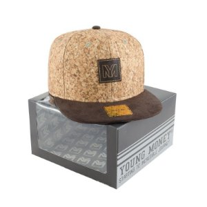 BONE ABA RETA YOUNG MONEY SNAPBACK CORTIÇA BRUKSKIN