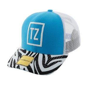 BONE ABA CURVA YOUNG MONEY SNAPBACK TATI ZAQUI AZUL