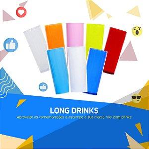 LONG DRINK BRANCO LEITOSO P/ TRANSFER LASER OU SERIGRAFIA 1UN