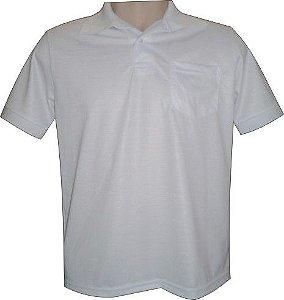 Camisa Polo Sublimática em Piquet 100% Poliester G