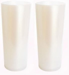 LONG DRINK BRANCO PEROLIZADO P/ TRANSFER LASER OU SERIGRAFIA 1UN