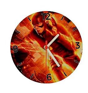 Relógio De Parede Redondo Em MDF (18 CM Diâmetro) P/Sublimação