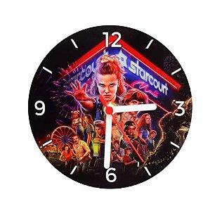 Relógio De Parede Redondo em MDF (16 CM Diametro) P/Sublimação