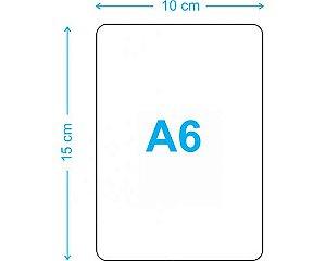 PLACA A6 EM MDF (10X15 CM) P/SUBLIMAÇÃO