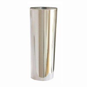 LONG DRINK PRATA COM INTERNA CRISTAL  P/ TRANSFER LASER OU SERIGRAFIA 1UN