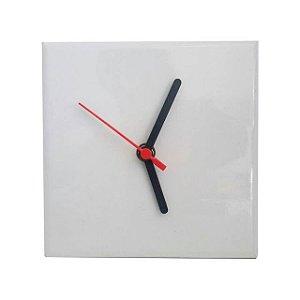 Azulejo Relógio 15x15 Acompanha maquina com Ponteiros