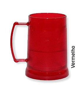 CANECA GEL CONGELANTE VERMELHA 300 ML - UNIDADE