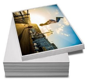 PAPEL FOTOGRÁFICO GLOSSY BRILHANTE | 200G TAMANHO A3 | PACOTE COM 20 FOLHAS