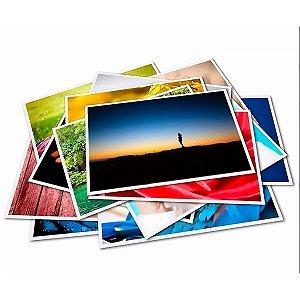 PAPEL FOTOGRÁFICO GLOSSY BRILHANTE | 260G TAMANHO 10X15CM | PACOTE COM 20 FOLHAS