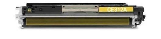 Toner Compativel Yellow para Impressora HP CP1025 CP1025nw CP1020 M175a M175nw M176n M177fw M275nw