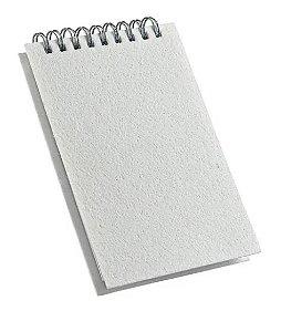 CADERNETA RASCUNHO 100 FLS CAPA PET P/SUBLIMAÇÃO (0,91 x 14,1cm) - 1 UNIDADE
