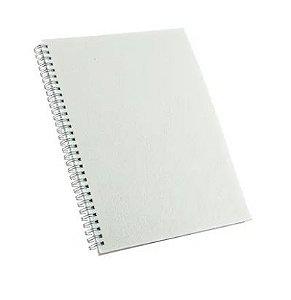 CADERNO PEQUENO PERMANENTE 100 FOLHA COM CAPA PET P/SUBLIMAÇÃO (15,0 x 21,0cm) -