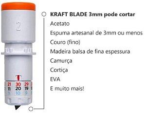 Lâmina Kraft 3mm Silhouette Cameo 4 - 2 Unidades