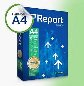 Papel Sulfite Report Premium A4 75g 500 folhas