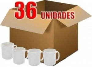 36 CANECA PLÁSTICA SUBLIMÁTICA BRANCA - (POLÍMERO) 300 ML MODELO 02