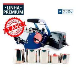 Prensa Térmica de Canecas 6 em 1 Premium - 220v