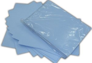 PAPEL TRANSFER SUBLIMÁTICO, A4 HAVIR FUNDO AZUL HAVIR 110gr, Pct100 Fls