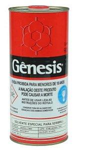 Solvente Especial Para Resina De Sublimação Gênesis - 900ml