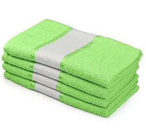 Toalha de Banho para Sublimação - Verde Limão