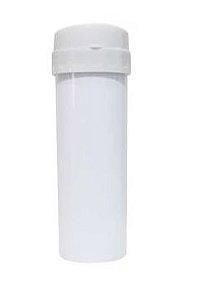 Garrafa Acqua Bio Branca Tampa Branca