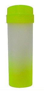 Garrafa Acqua Bio Degradê Amarelo Neon Tampa Amarelo