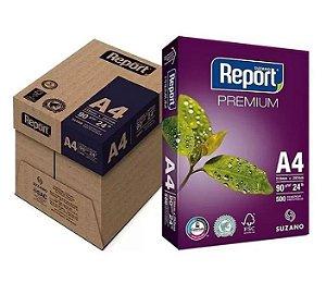 Papel Sulfite Report Premium A4 90g 500 folhas - Caixa com 5 Pacote