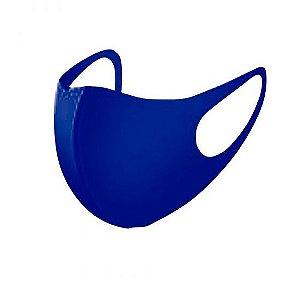 5 Máscara Facial Neoprene Adulto - Azul Marinho