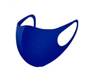Máscara Facial Neoprene Adulto - Azul Marinho